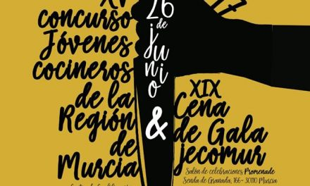 Bases del XV Concurso Jóvenes Cocineros de la Región de Murcia