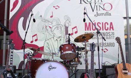 Arranca <b>Música Entre Vinos</b> en Jumilla,<br>hasta el 29 de julio