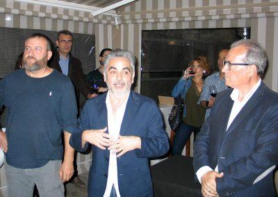Juan Álvarez explicando el proceso de creación de la marca