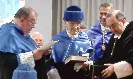Discurso del Rector de la Universidad de Murcia en el acto de investidura de Raimundo González como Doctor Honoris Causa