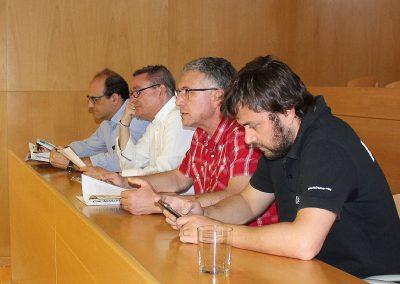 Representantes de bodegas participantes