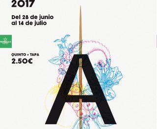 Aguilas se va de Tapas, del 28 de junio al 14 de julio de 2017