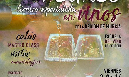 I Curso Técnico Especialista en Vinos de la Región de Murcia