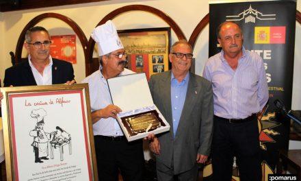 Entrañable cena homenaje a Alfonso Ortega Olivares (La cocina de Alfonso) en Los Churrascos