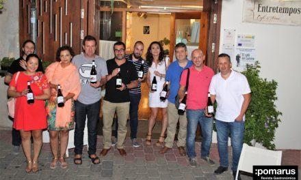 Magnífica cena-cata de vinos BRUMA en Entretempos Café & Vinos, en Bullas