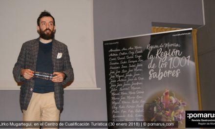 Urko Mugartegui, en el Centro de Cualificación Turística