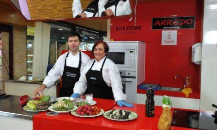 Carmela Santana y Antonio Reyes en Gastro Verónicas 2018