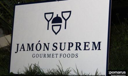 Presentación de Jamón Suprem en Magna Garden