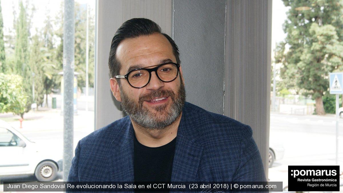 """Juan Diego Sandoval: """"El reconocimiento llega por la trayectoria"""""""