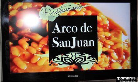 Presentación de la nueva carta del restaurante Arco de San Juan