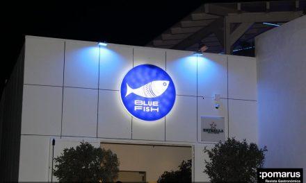 Blue Fish, cocina mediterránea en unas espectaculares instalaciones junto a la discoteca Trips en La Manga