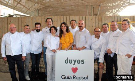 Cocineros murcianos de la Guía Repsol, investidos con la nueva chaquetilla