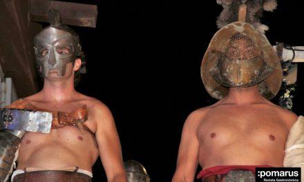 Cena romana con espectáculo de Gladiadores en la Muralla Púnica