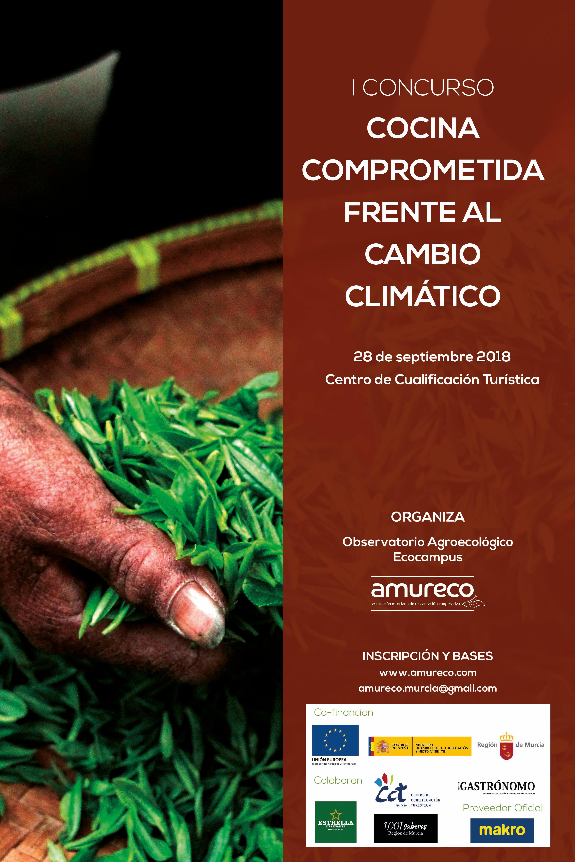 I Concurso AMURECO-EcoCampus «Cocina Comprometida frente al Cambio Climático».