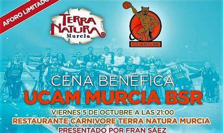 Cena Benéfica UCAM MURCIA BSR en Restaurante Carnívore Terra Natura Murcia