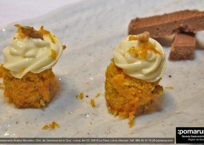 Petit fou: Tarta de zanahoria y almendracao