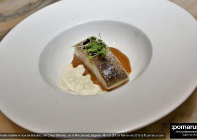 Caldo de cebolla tostado y bacalao