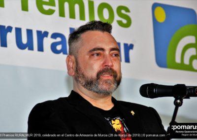 José María Clares del Restaurante La Masía del Jamón, categoría Gastronomía