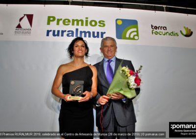 La boxeadora María del Carmen Romero, categoría Deporte