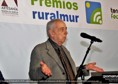 Mariano Hernández del Taller Mhega, categoría Honorífico