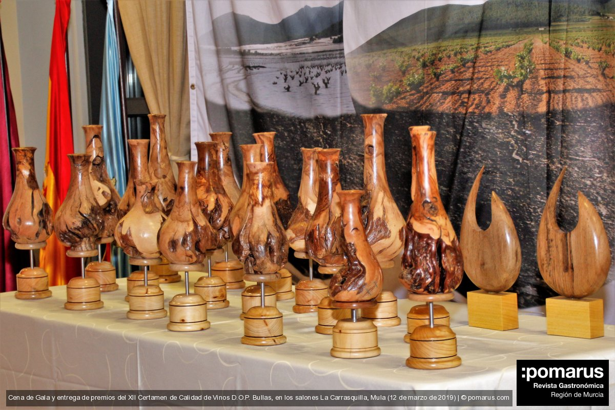 Broche de oro con la entrega de premios a los vinos participantes en el  XII Certamen de Calidad de Vinos D.O.P. Bullas