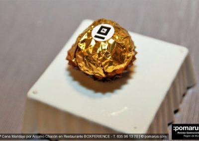 Ferrero de hueva y mojama