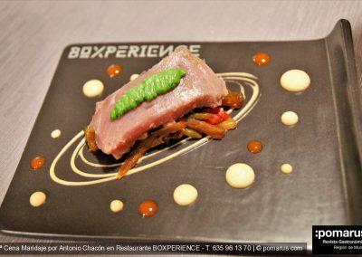 Tataki de atún de bellota