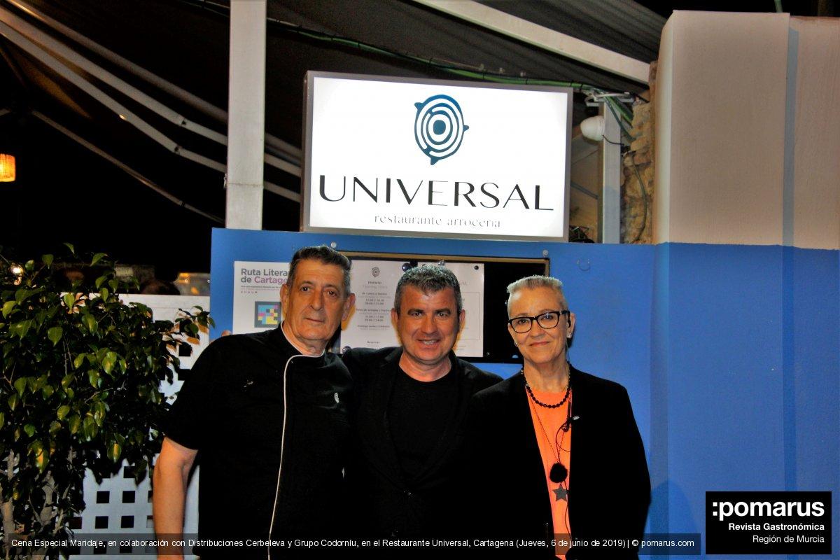 Cena Especial Maridaje en el Restaurante Universal de Cartagena