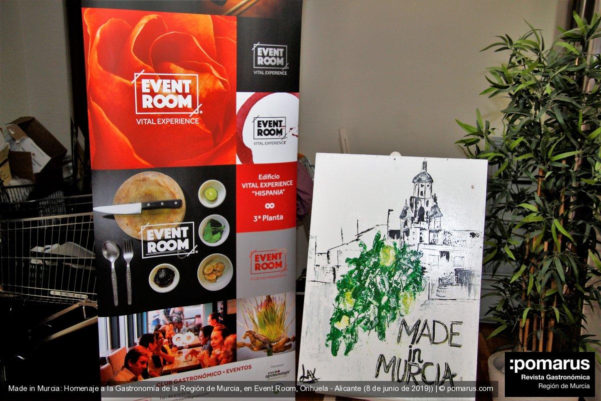 Made in Murcia: Homenaje a la gastronomía murciana en Event Room de Orihuela