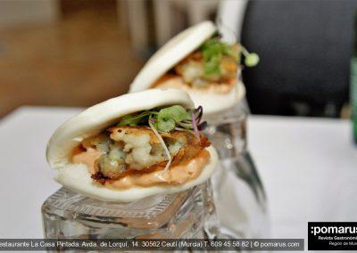 Pan Bao de calamar