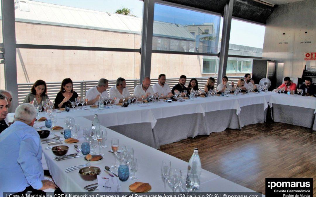 I Cata & Maridaje de CREA Networking Cartagena, en el Restaurante Arqua