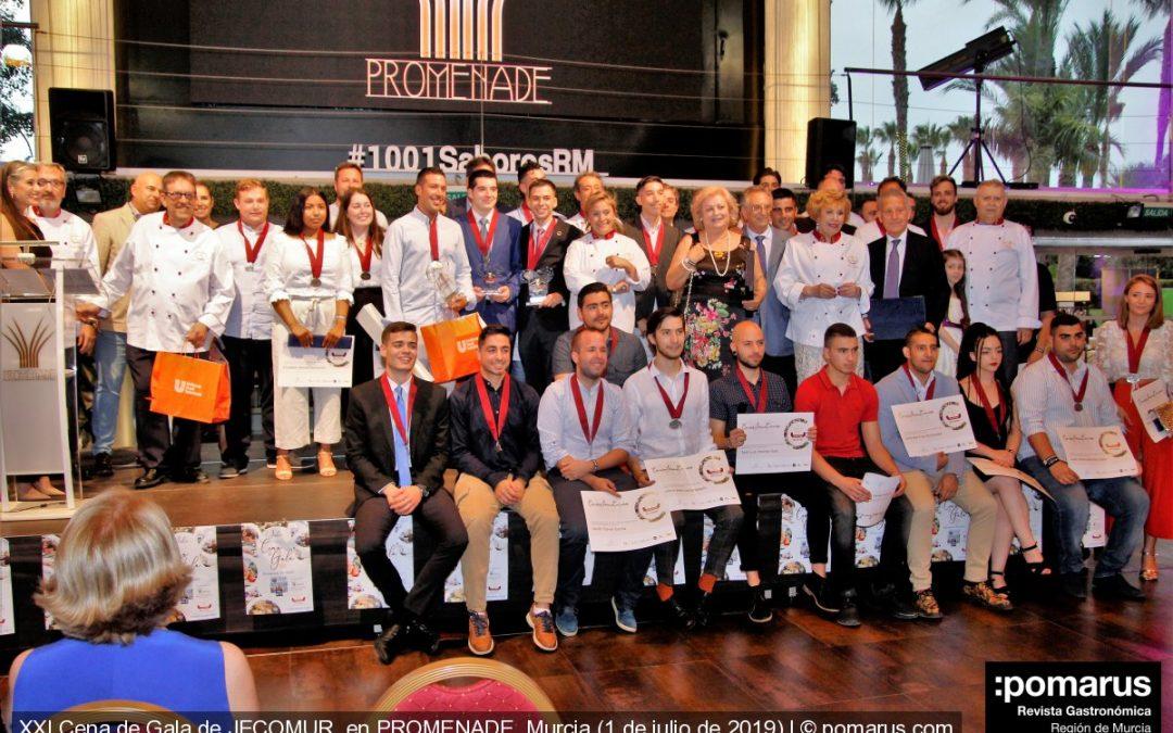 XXI Cena de Gala de JECOMUR: La gran fiesta de los chefs de la Región de Murcia