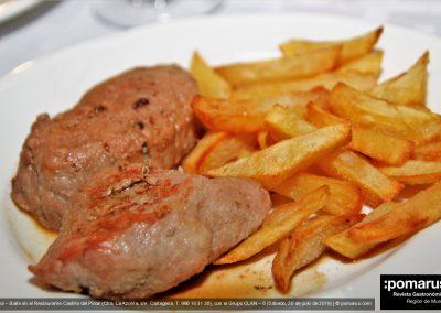 Solomillo ibérico salsa (Iberian sirloin sauce)