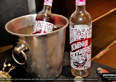 """Vino rosado """"Homenaje"""""""