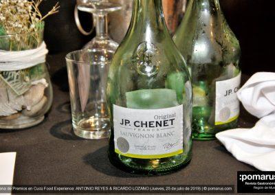 "Vino blanco francés ""JP CHENET"