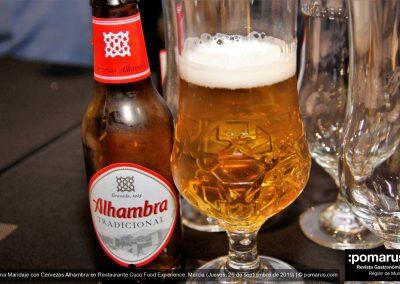 Cerveza Alhambra tradicional
