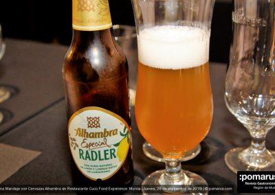 Cerveza Alhambra Radler