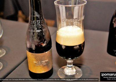 Cerveza Baltic Porter de Alhambra