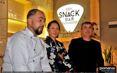 Cena Japo en Boxperience, con la colaboración de Naoko y maridada por Antonio Chacón
