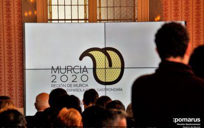 Presentación del Logotipo, Imagen y Campaña de promoción exterior de Murcia, Capital Española de la Gastronomía 2020