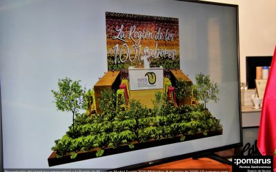 Presentación del stand que representará a la Región de Murcia en la Feria Madrid Fusión 2020