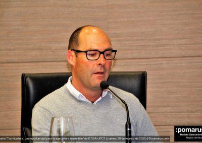 D. Francisco de Lara, secretario de la Asociación Española de Turmicultura