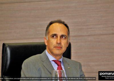 D. Alejandro Díaz Morcillo, rector de la UPCT