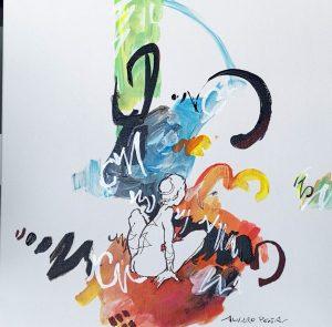 «La excéntrica ilustrada», de Álvaro Peña. Artista Plástico