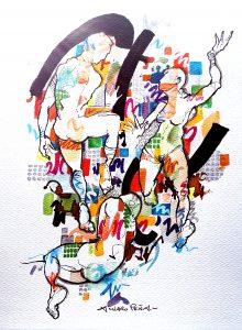 Homenaje a «La Femme Damnée», de Álvaro Peña. Artista Plástico