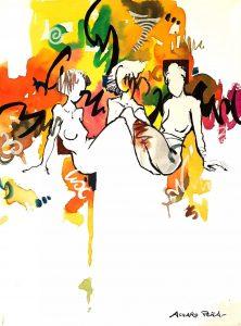 «Las mujeres secretas», de Álvaro Peña. Artista Plástico