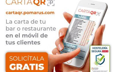 Carta QR digital gratis en apoyo a la hostelería murciana