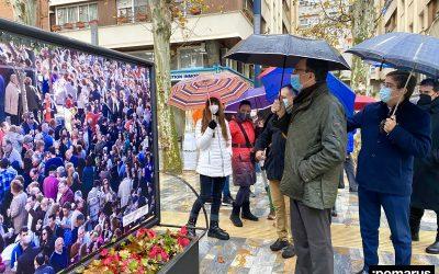 """Las tradicionales """"Pelotas de Patiño"""" invaden gráficamente el Paseo Alfonso X El Sabio en Murcia"""