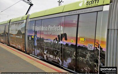 El viñedo de la DOP Jumilla estará presente en la capital de la Región a través de Tranvía de Murcia