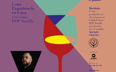 """Arranca """"Familia Jumilla Wine Dinner"""" con la primera cena experiencial elaborada por el chef Rafa Sánchez (Rte. Boxperience), armonizada con vinos D.O.P. Jumilla por el sumiller Antonio Chacón"""